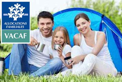 <strong>Camping agréé VACAF : jusqu'à -80%</strong>